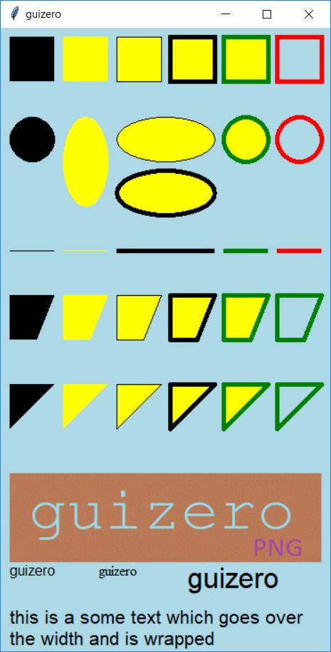 Drawing - guizero